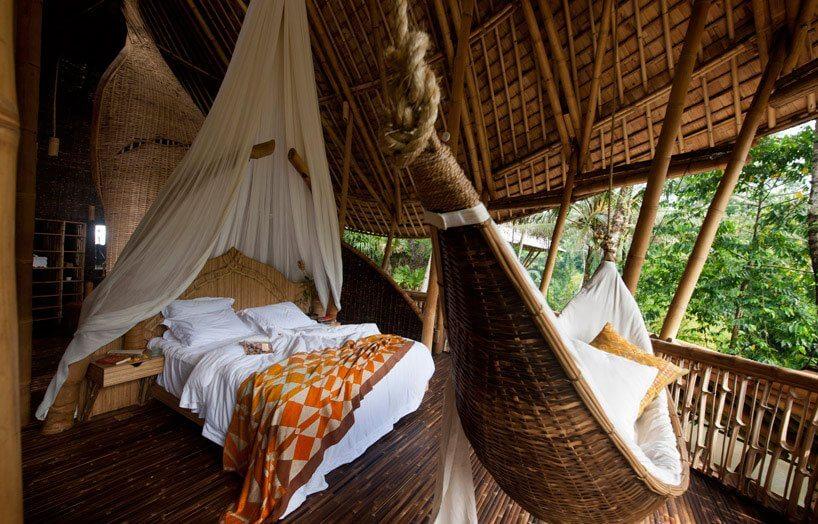 bali green village baumhaushotel