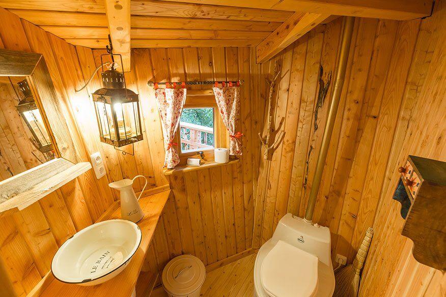 Baumhaus Cuxhaven Bio-WC