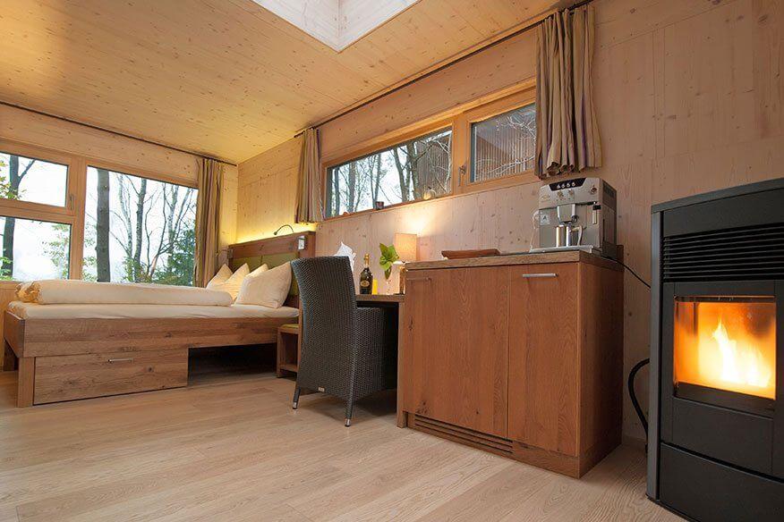 Baumhaus Lodge Wohnbereich