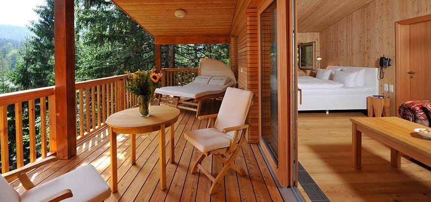 Das Kranzbach Baumhaus Luxus In Luftiger Hohe
