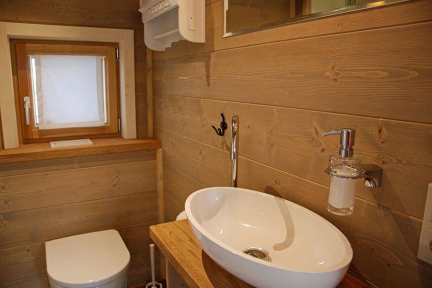 Baumhaushotel Allgäu Badezimmer