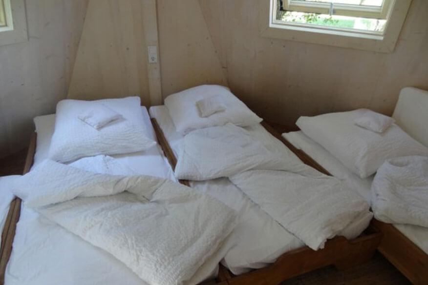 Baumhotel Auszeit Schlafbereich
