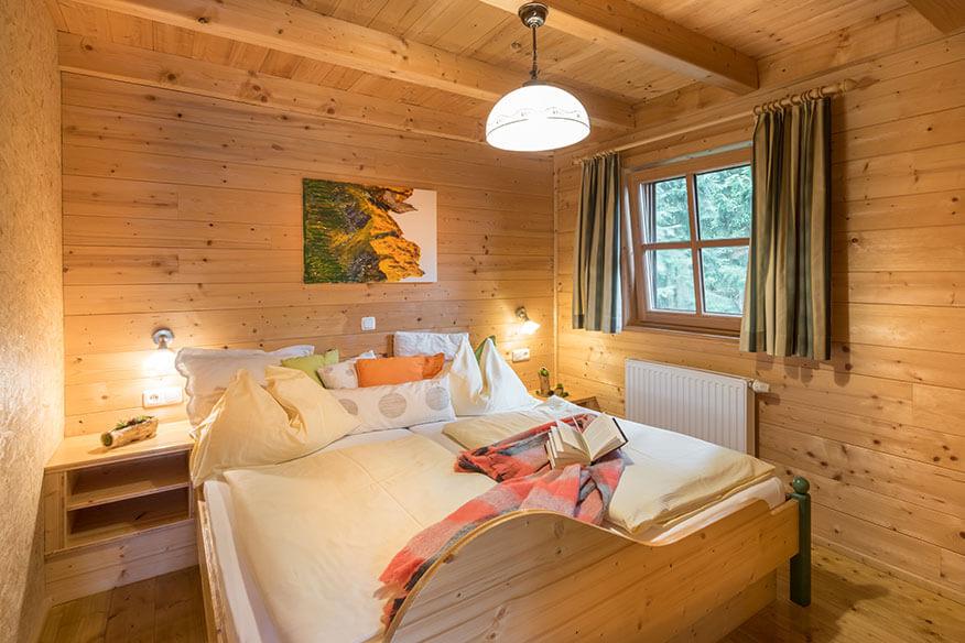 Baumkronenweg Baumhaus Schlafzimmer