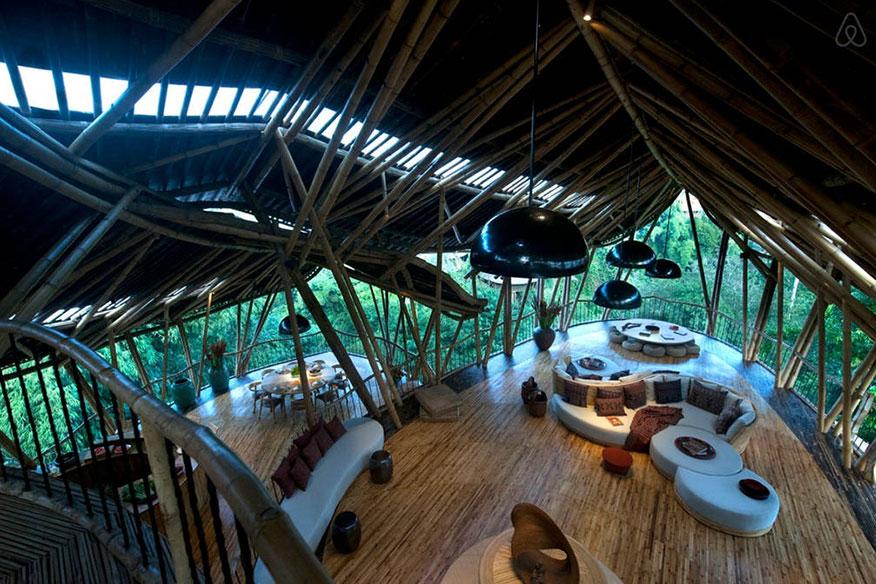 Baumhaushotel Green Village Sharma Springs Wohnbereich