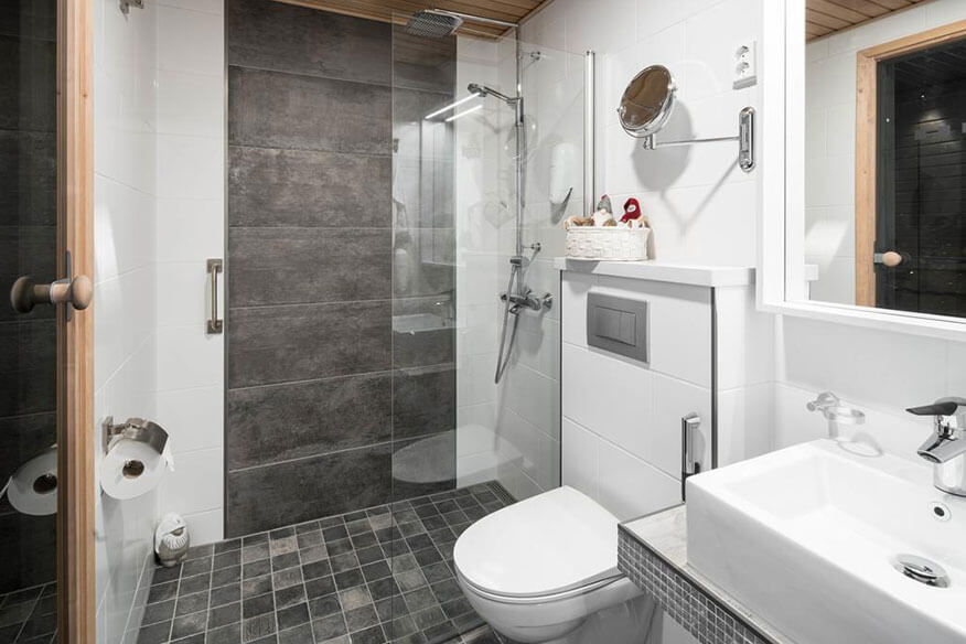 Arctic Baumhaushotel Suite Badezimmer