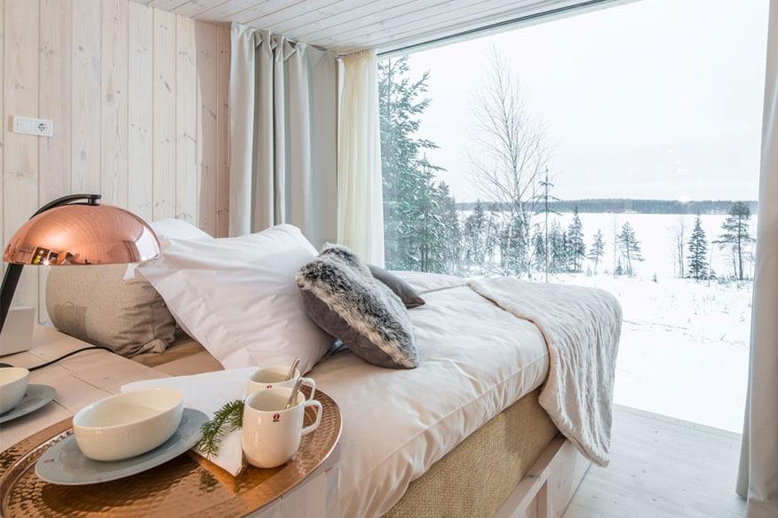 Arctic Baumhaushotel Suite Wohnbereich