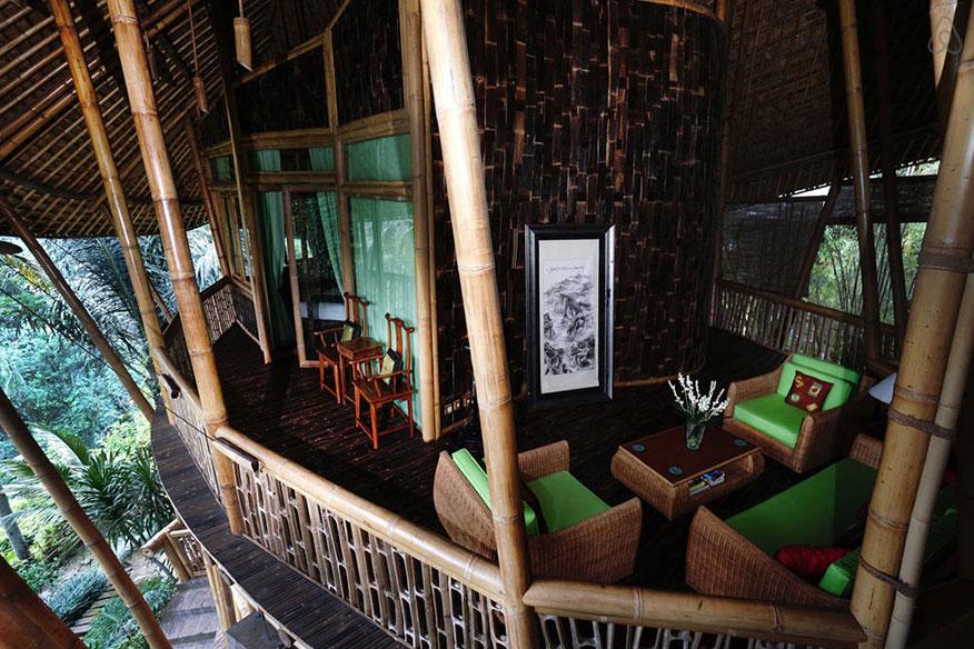 Baumhaushotel Green Village Palm Villa 2. Stock