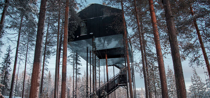 Treehotel The 7th Room Schweden