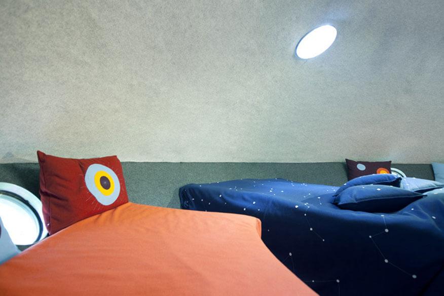 Treehotel The Ufo Schlafbereich