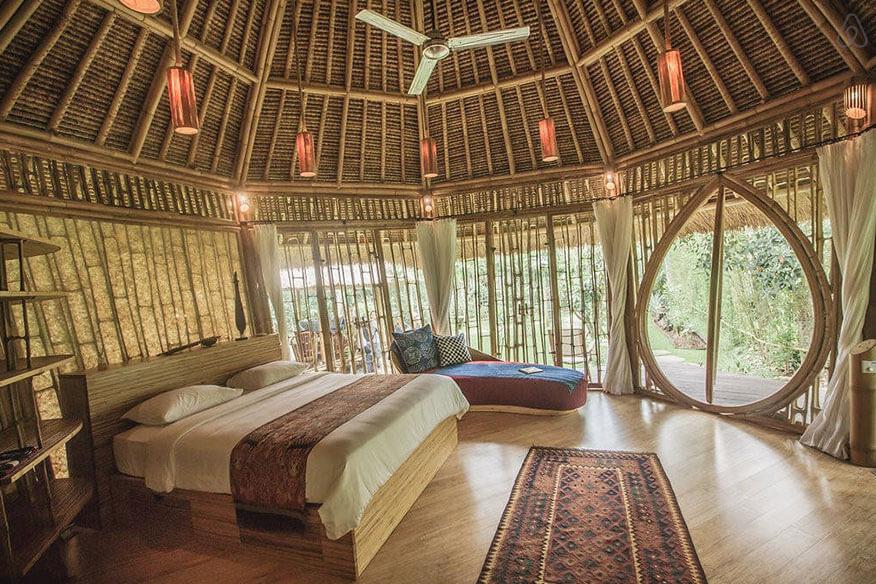 Green Village Bambus-Baumhaus