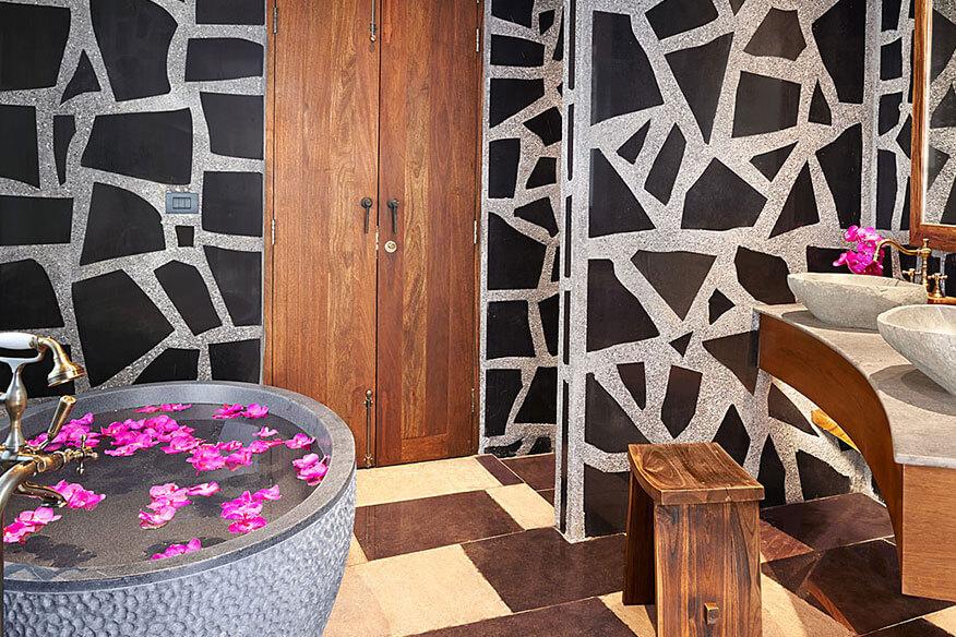 Keemala Baumhaushotel Badezimmer