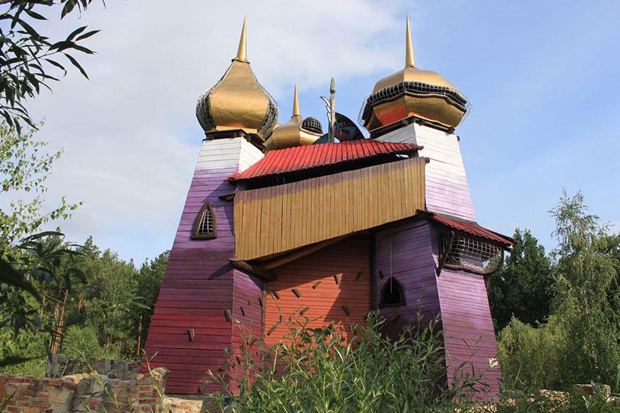 Baumhaushotel der geheimen Welt von Turisede Schloss