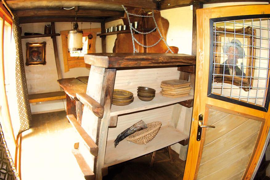 Baumhaushotel der geheimen Welt von Turisede Kochbereich