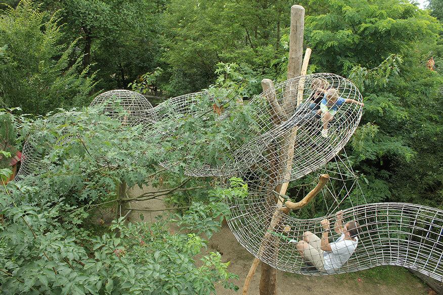 Baumhaushotel der geheimen Welt von Turisede Freizeitpark