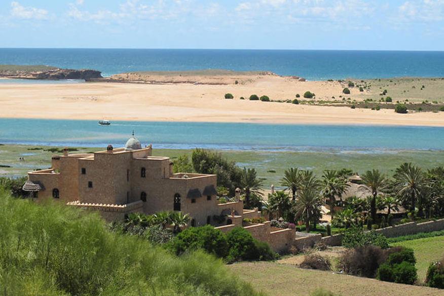 La Sultana Oualidia Baumhaus Naturlandschaft