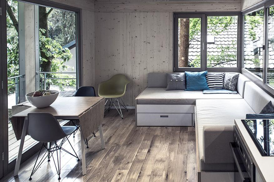 The Urban Treehouse Wohnbereich
