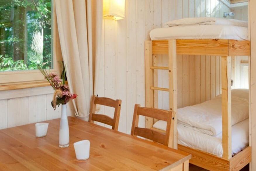 Baumhaushotel Wipfelglueck Wohnbereich