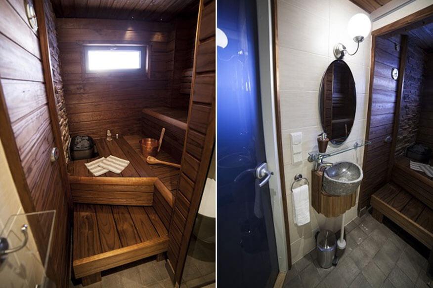 Baumhaushotel Eagles View Suite Sauna