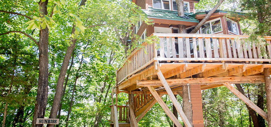 the cottage SUNRISE baumhaus