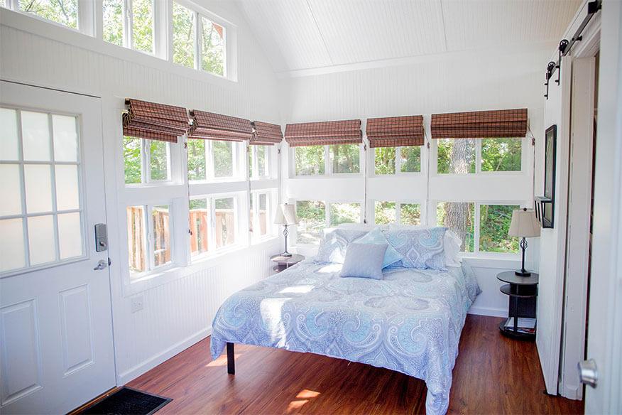 the cottage schlafbereich